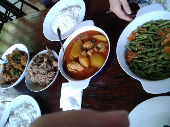 The Shorea: well fed lunch