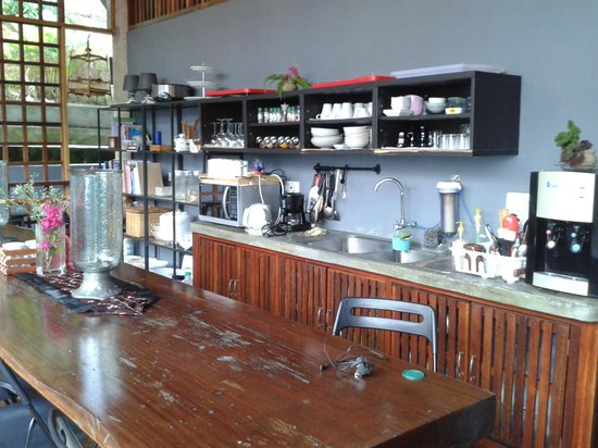 The Shorea: fully equipped communal kitchen