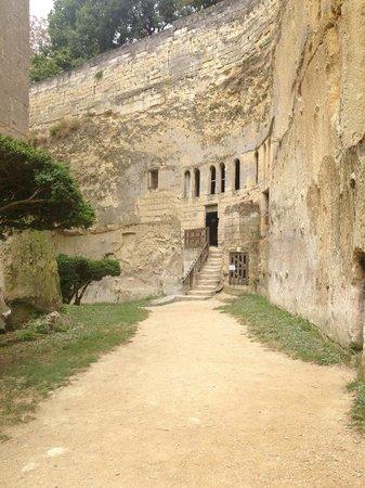 Château de Brézé : Dry Moat