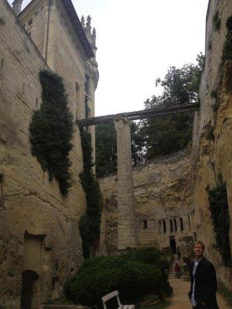 Chateau de Breze: Walking Bridge