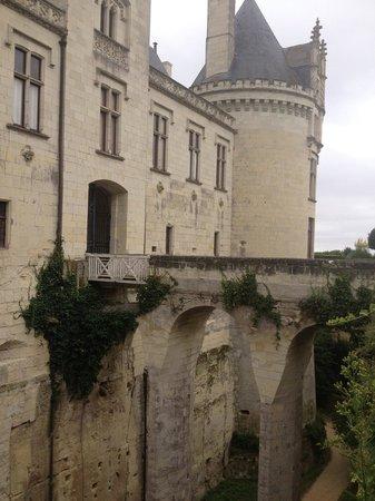 Château de Brézé : Entrance to the Castle