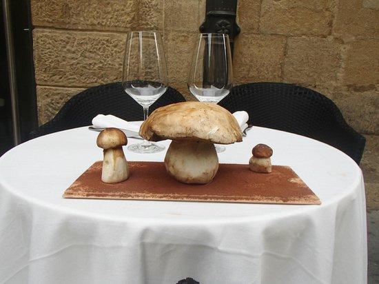 Hotel Hospederia de los Parajes: Mushrooms