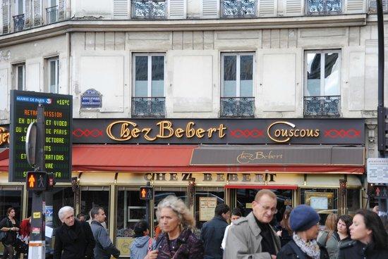Chez Bebert : insegna