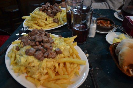 Bar Restaurant Cinzano: Das Essen