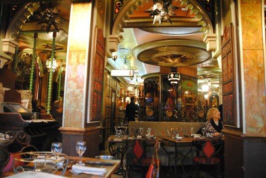 Chez Bebert : Interno ristorante