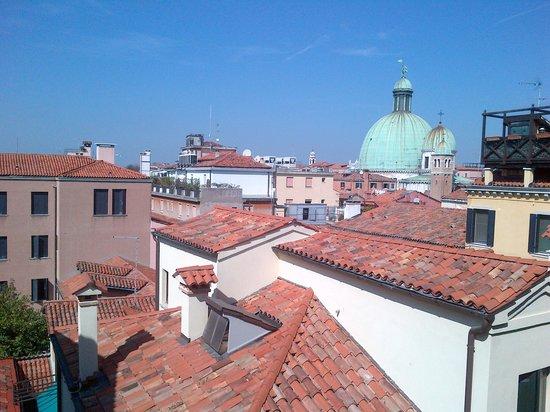 Hotel Carlton Capri: View from balcony
