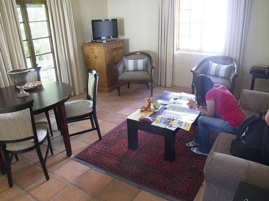 De Doornkraal Historic Country House Boutique Hotel: Living Room