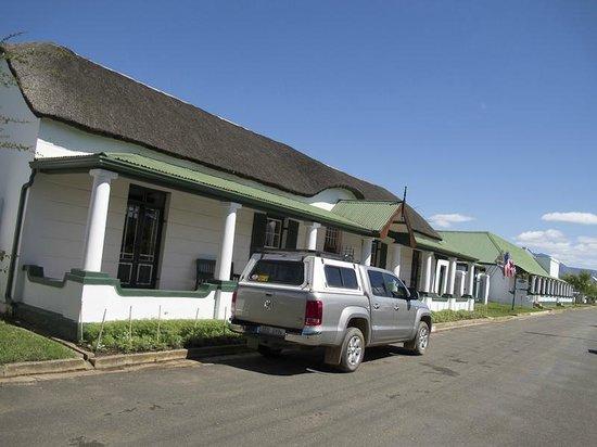 De Doornkraal Historic Country House Boutique Hotel: Restaurant / Main Building