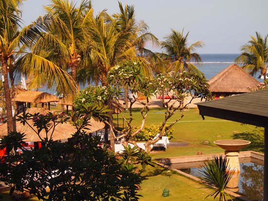 Grand Mirage Resort and Thalasso Bali : View from our room