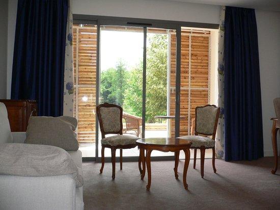 Hotel du Lac : suite chambre quadruple
