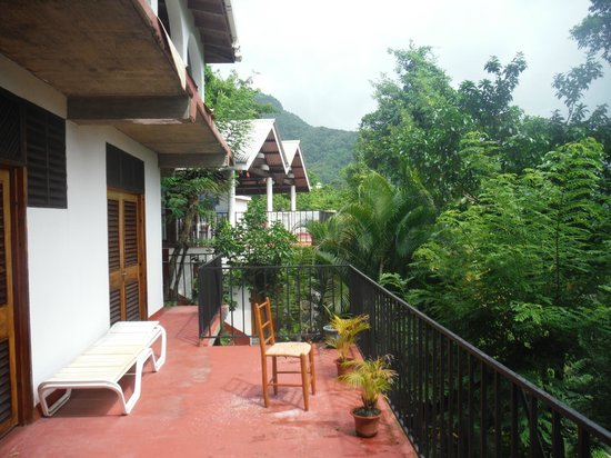 Uptown Guest House: balcony