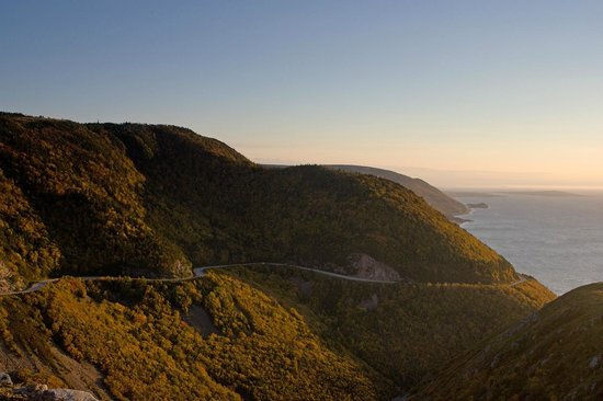 Skyline Trail : View of Cabot Trail