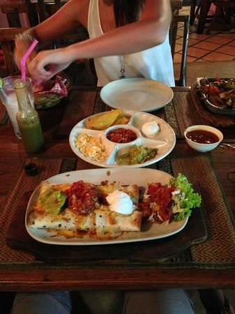 Gringos Cantina Mexican Restaurant: Gringos Cantina Mains