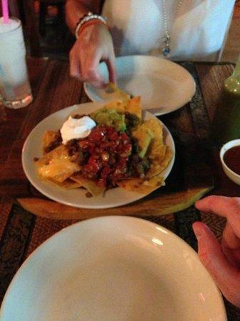 Gringos Cantina Mexican Restaurant : Gringos Cantina Nachos