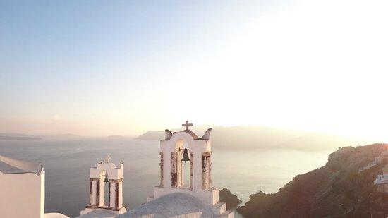 Art Maisons Luxury Santorini Hotels Aspaki & Oia Castle: Aspaki View