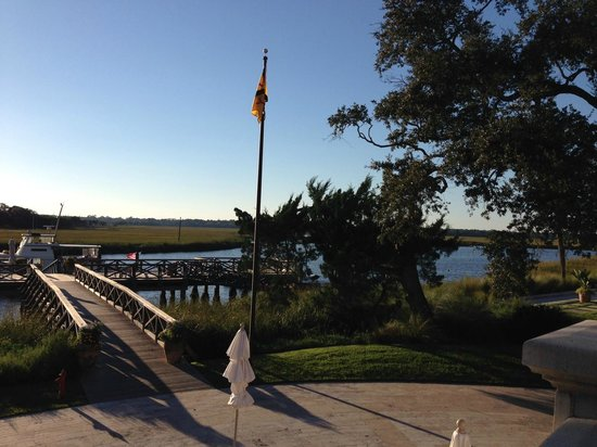 The Cloister at Sea Island: Dock/pier where fishing charters launch