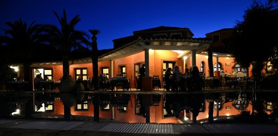 Galanias Hotel & Retreat Domos Galanas: Cena