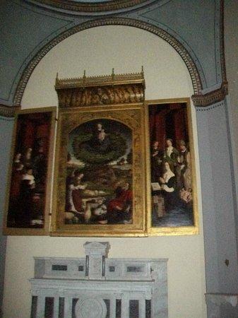 """Cathedrale St. Sauveur: il Trittico del """"Cespuglio Ardente"""""""