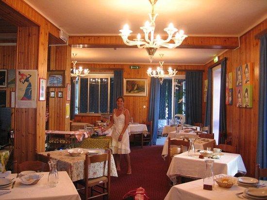 Albergo Manolita: sala pranzo