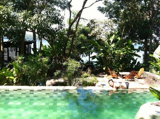 Jicaro Island Ecolodge Granada: Pool!