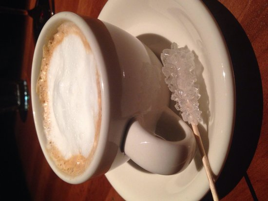 J Alexander's Restaurant: Lovely cappuccino