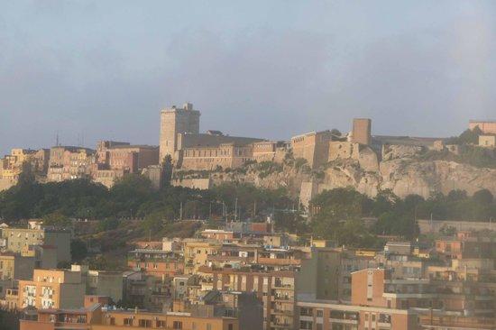 T Hotel: vue sur le castello