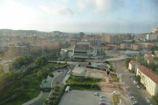 T Hotel : vue depuis la chambre