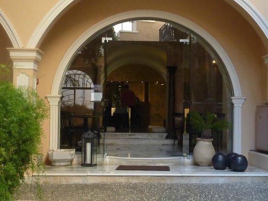 Casa Delfino Hotel & Spa : and at the end... the Reception.