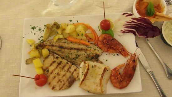 Al Fondaco Del Conte: Mixed sea food
