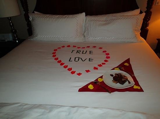 Sandals Regency La Toc: our Butler Ronald did this for us