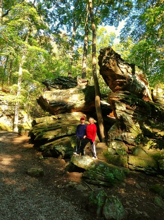 Giant City State Park: The rocks are really GIANT--guess that's where they get the name!