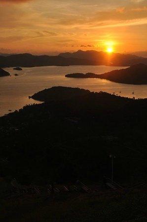 Mt Tapyas : sunset