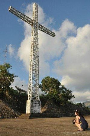 Mt Tapyas : the cross