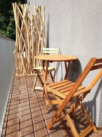 Room 5 Apartments : Riverside I & II Apartment - Terrasse