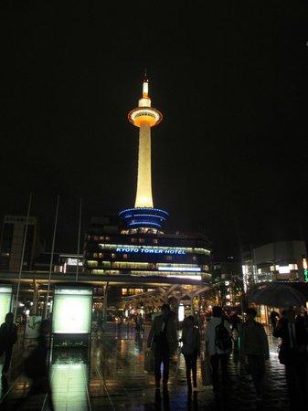 Hotel Hokke Club Kyoto: Night view