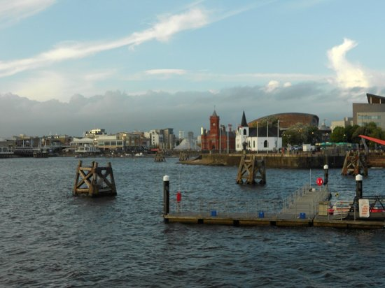 Cardiff Marriott Hotel: The Bay from Dr Who Jetty