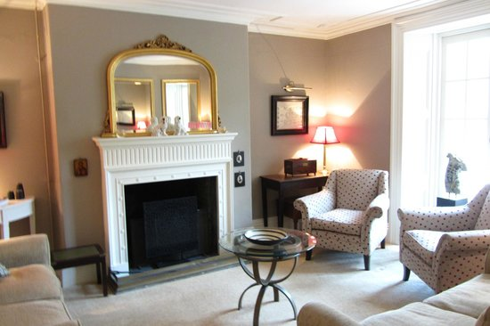 The Old Rectory Hotel: One of the cozy sitting rooms