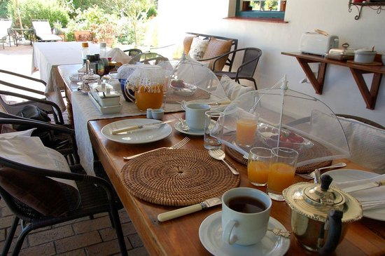 Fairview Historic Homestead : Wonderful breakfast