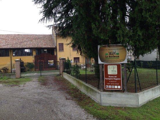 Montecchio Emilia, Italy: Ingresso museo