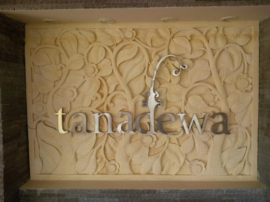 Tanadewa Luxury Villas & Spa: The lobby