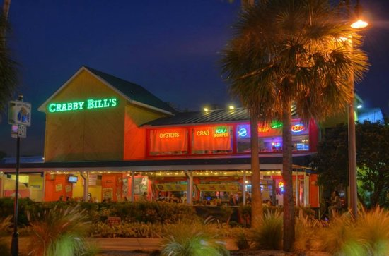 Nice Restaurant Near Pier 60 Review Of Crabby Bill S Clearwater Beach Fl Tripadvisor