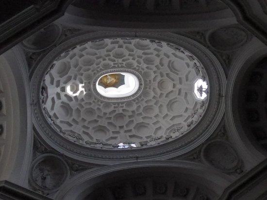 San Carlo alle Quattro Fontane: 天国をイメージさせる天井