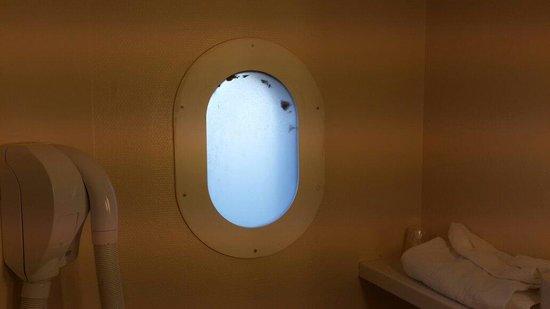 ibis Paris Tour Eiffel Cambronne 15eme: Dirty toilet glass not a window!