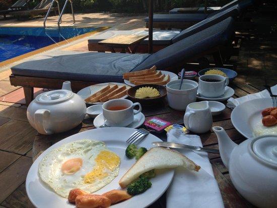 Antanue Spiritual Resort & Spa: breakfast was simply delicious