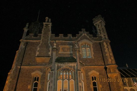 The Oakley Court: View of the Hotel at Night