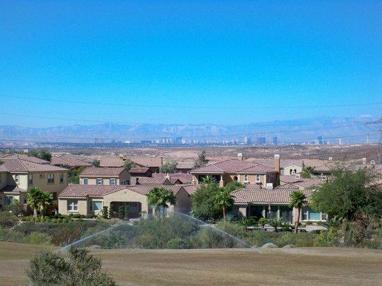 The Westin Lake Las Vegas Resort & Spa : Strip in the distance...