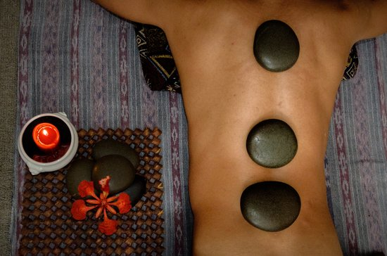 The Massage Guy: Hot stones- soothing oils