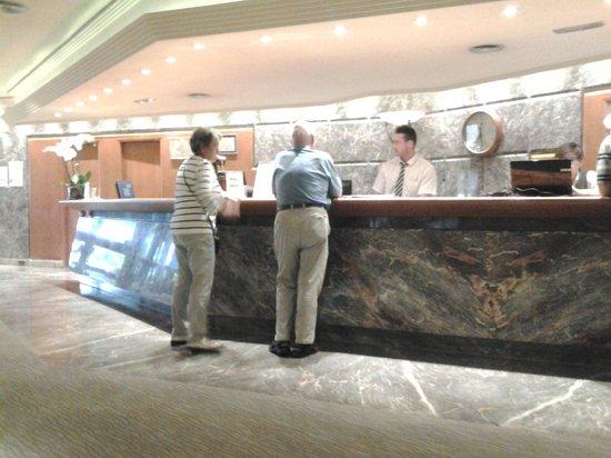 Hotel Don Pancho : Reception