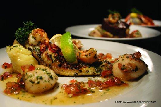 AZUR Restaurant: Our Signature Fish Trio