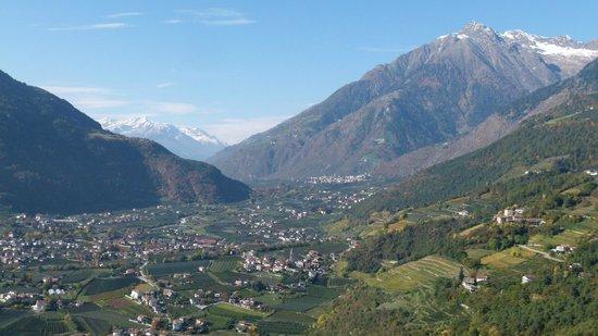 Hotel Rimmele: Ausblick zur Schweiz